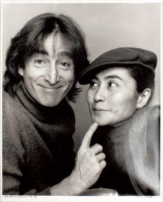 John Lennon & Yoko Ono (1980) by Jack Mitchell
