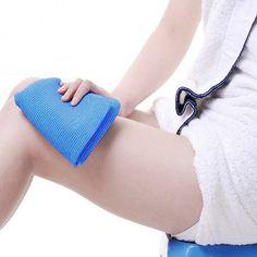 1 Unids Paño Toallita Exfoliante Depuradores Esponja Cuerpo Piel Limpieza Estropajos de Nylon Baño Ducha Accesorios de Baño Caliente de la Venta