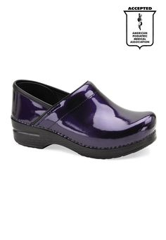Love purple! Love these nursing clogs!
