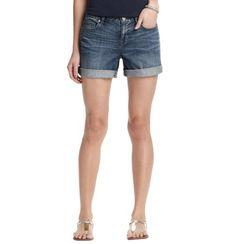 Denim Roll Shorts in Seaside Blue