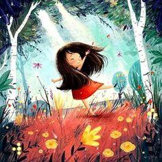 New Art Painting Illustration Sweets Ideas Art And Illustration, Illustration Mignonne, Character Illustration, Art Illustrations, Art Anime Fille, Anime Art Girl, Cartoon Kunst, Cartoon Art, Fantasy Kunst