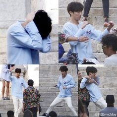 Fan Snapped Spain Pics Provide First Look at Lee Min Ho and Jeon Ji Hyun Filming Legend of the Blue Sea | A Koala's Playground