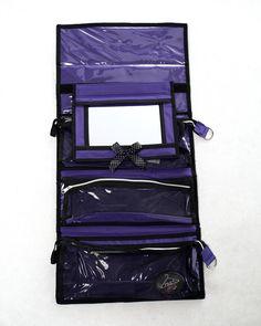 Rac n Roll Purple Cosmetic bag