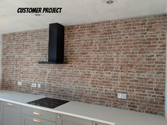 Fantastic Absolutely Free Brick Fireplace industrial Tips New York Rustic Brick Red Effect Wall Tile Our Stunning New York style Rustic Brick Effect Tile ta Brick Tiles Kitchen, Brick Style Tiles, Red Brick Tiles, Brick Effect Wall Tiles, Exposed Brick Walls, Exposed Brick Kitchen, Kitchen Trends, Kitchen Ideas, Kitchen Designs