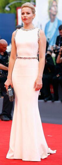 """Elizabeth Banks arrives at the Venice Film Festival opening ceremony premiere of """"Everest"""" on Sept. 2."""