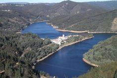 The Zêzere River, in Serra da Estrela mountains, Portugal
