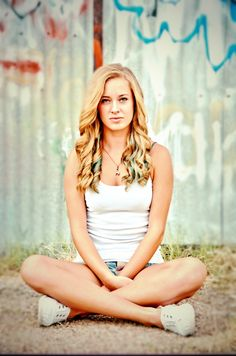 Blonde hair senior pictures girl portrait photography gorgeous. Gorgeous. Long hair. Blonde hair. Senior pictures. Girl. Portrait. Beach. Lake. Summer. Shorts. White tank top. Waves. Muscles. Senior portrait. Flag shorts. America shorts. Graffiti.