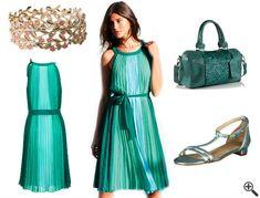 Schöne bunte Sommerkleider luftig-leichtes Outfit…