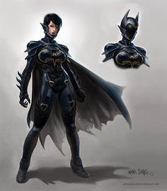 La descendiente de Batgirl.