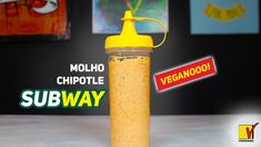 MOLHO CHIPOTLE DO SUBWAY | VEGANO E FABULOSO | VIEWGANAS Xpress