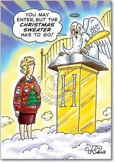 Drawing the line at Christmas Sweaters ...