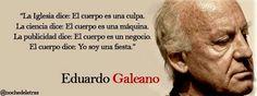 Casa de Euterpe: Corpo - Eduardo Galeano