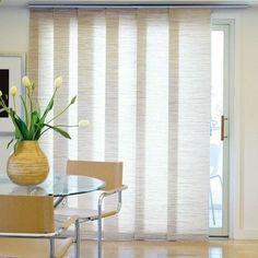 Modern Vertical Fabric Shades