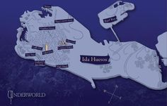 Map of the Underworld. Check out the extras: http://megcabot.com/abandon/underworld/extras.php