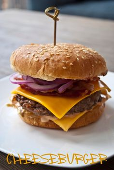 W mojej holenderskiej kuchni: Cheeseburger