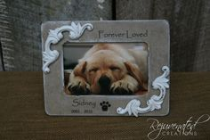This ad is for 1 - personalized wood frame.  This frames holds a 4 x 6 image.  It comes personalized