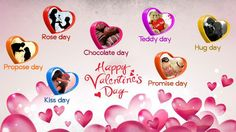 Valentine Day Week List 2017 - Happy Valentine's Day 2017 Quotes,Ideas,Wallpaper,Images,Wishes