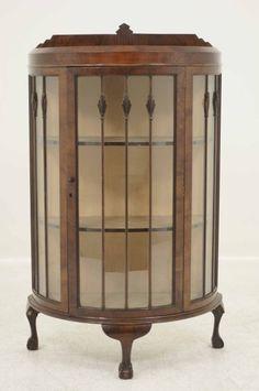 Beau Victorian Corner Furniture Rosewood China Cabinet | EBay | Whispering  Crimson Heights | Pinterest | Corner Furniture, China Cabinets And Victorian