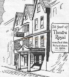 Old theatre royal Bristol