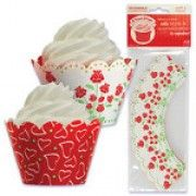 Roses Cupcake Wrappers - 48 pcs - CB-14421-ROSES-pack48-1