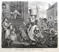 The Enraged Musician (1741)