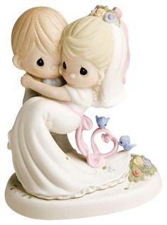 What can be more adorable than Precious Moments wedding cake toppers! With their teardrop eyes and faith inspired designs, these cake toppers will be the prefect expressions of your love on your wedding day. We also have Precious Moments Quinceaneras and Precious Moments Wedding, Disney Precious Moments, Precious Moments Quotes, Precious Moments Figurines, Wedding Cake Toppers, Wedding Cakes, On Your Wedding Day, Dream Wedding, Wedding Doll