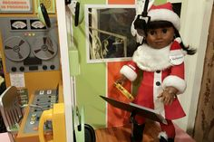 American Girl Brand Doll Melody singing Jingle Bell, over at Motown. @agofficial #joy2everygirl #americangirlbrand #melodyamericangirldollbeforever