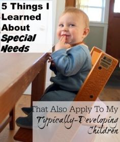 5 Things I Learned About Special Needs That Also Apply To My Typically-Developing Children | Health, Home, & Happiness (tm)