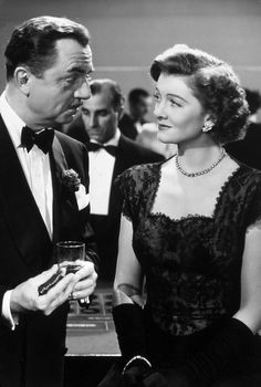 "Myrna Loy and William Powell as Nick and Nora Charles.  ""The Thin Man"" series.  I love them."