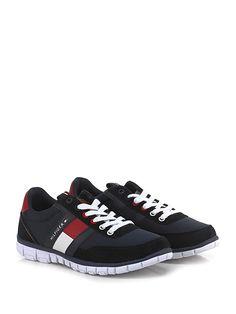 c91e6c35bfe3a Sneaker Blu red Tommy Hilfiger - Le Follie Shop