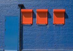 Blue & Orange...