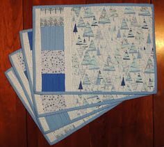 Jetgirl's Quilts & Other Projects: Christmas Placemats