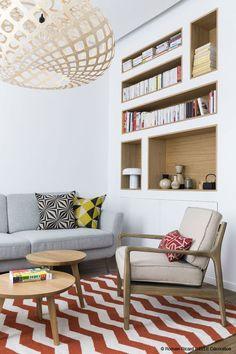 Un esprit #vintage pour le #salon ! #déco http://www.m-habitat.fr/par-pieces/salon-et-salle-a-manger/10-ambiances-pour-votre-salon-3786_A