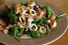 Klara's Squid Salad Recipe - Croatian Lignje na Salatu