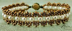 Bracelet of the Day: Crystal Chain with Pearls - Linda's Crafty Inspirations