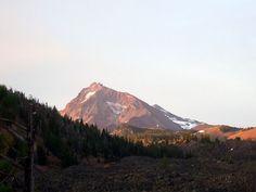 Sunrise over North Sister, Three Sisters Wilderness, Oregon
