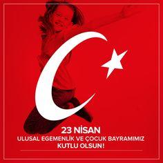 Geleceğimiz, çocuklarımızın 23 Nisan Ulusal Egemenlik ve Çocuk Bayramını kutlarız. #23Nisan