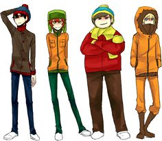 South Park by sujk0823 on DeviantArt
