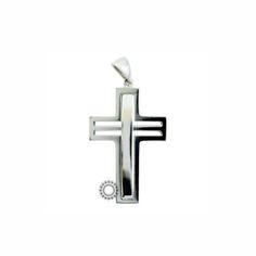 Ένας μοντέρνος και ιδιαίτερος σταυρός unisex ή βαπτιστικός από λευκόχρυσο Κ18 με κενά στο οριζόντιο τμήμα του. Συνοδεύεται από εγγύηση ποιότητας. #βαπτιση #βαφτιση #λευκοχρυσο #σταυρος