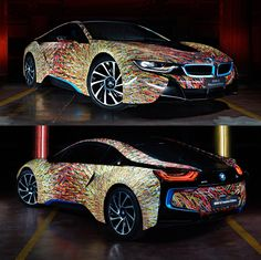 BMW i8 Futurism Edition.  We collect and generate ideas: ufx.dk