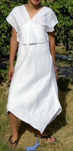 Handmade summer dress, Belgian Linen (7.5 oz/yd) ■ Vendemos mayoreo y menudeo para todo el mundo. Contáctenos [Esp.] ■ We sell wholesale and retail to the whole world. Contact Us [Eng.] ■ Nous vendons en gros et au détail à tout le monde. Contactez [Fra.] ■ Noi vendiamo all'ingrosso e al dettaglio a tutto il mondo. Contatto [It.] ■ Wir verkaufen Groß-und Einzelhandel für die ganze Welt. Kontakt [De.] ■ 我々は、全世界へ卸•小売販売。連絡 [日本語] ► Linked In ● © Santa Fe Clothing Co.