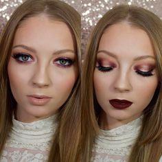 Halo Eye Makeup, Olivia Grace, Huda Beauty, Channel, Lips, Instagram Posts