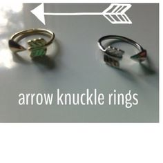 Silver & Gold Knuckle Rings - $20