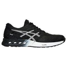 Asics Women'S Fuzex Fuze Gel Running Shoes Sneakers White Black Onyx