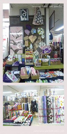 Fabric Shopping in Sapporo