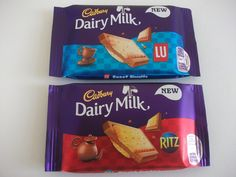 Cadbury Dairy Milk with LU Sweet Biscuits & Ritz Crackers #chocolate #dairymilk #cadbury