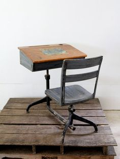 15 best old school desk images old school desks antique school rh pinterest com