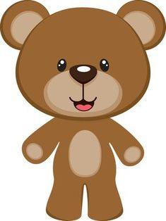 Ideas Baby Shower Invitaciones Moldes Teddy Bears For 2019 Teddy Bear Party, Teddy Bear Baby Shower, Teddy Bears, 2 Clipart, Cute Clipart, Baby Shower Niño, Baby Shower Parties, Urso Bear, Bear Theme