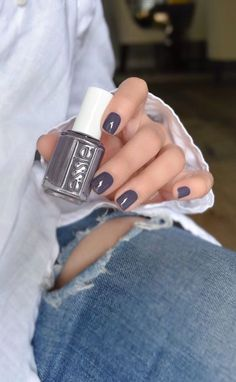 Winning Streak by Essie. Manicure Y Pedicure, Gel Nails, Manicures, Coffin Nails, Acrylic Nails, Cute Nails, Pretty Nails, Nagellack Design, Winter Nails