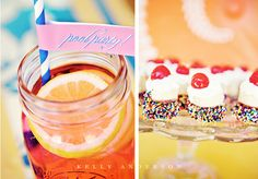 Pool Party Guest Dessert Feature | Amy Atlas Events
